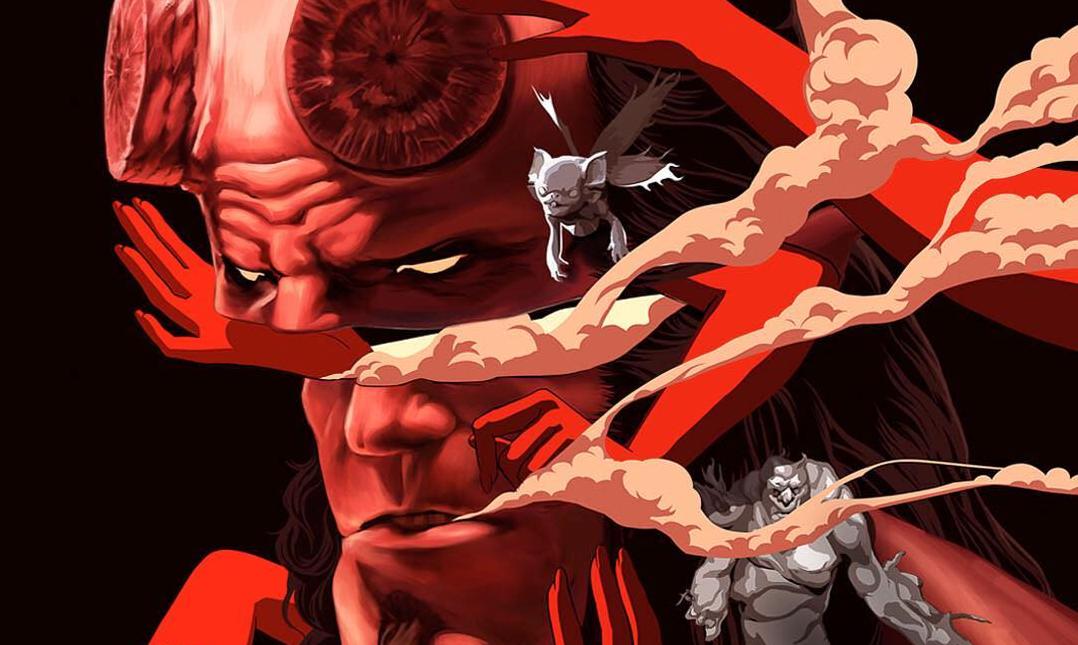 copertina Hellboy