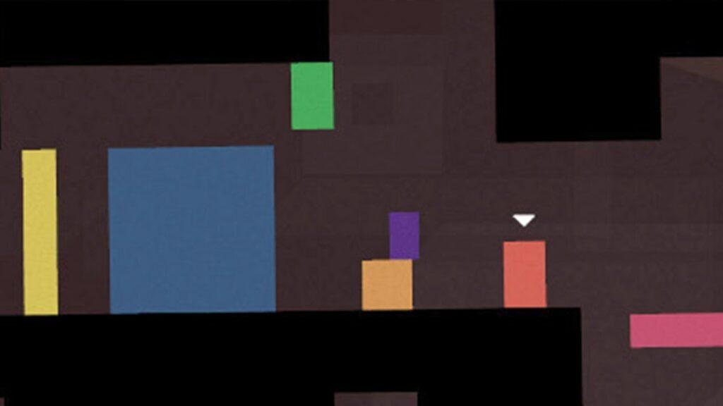 Thomas Was Alone ed animacy - Da sinistra: John, Claire, James, Chris, Sarah, Thomas, Laura