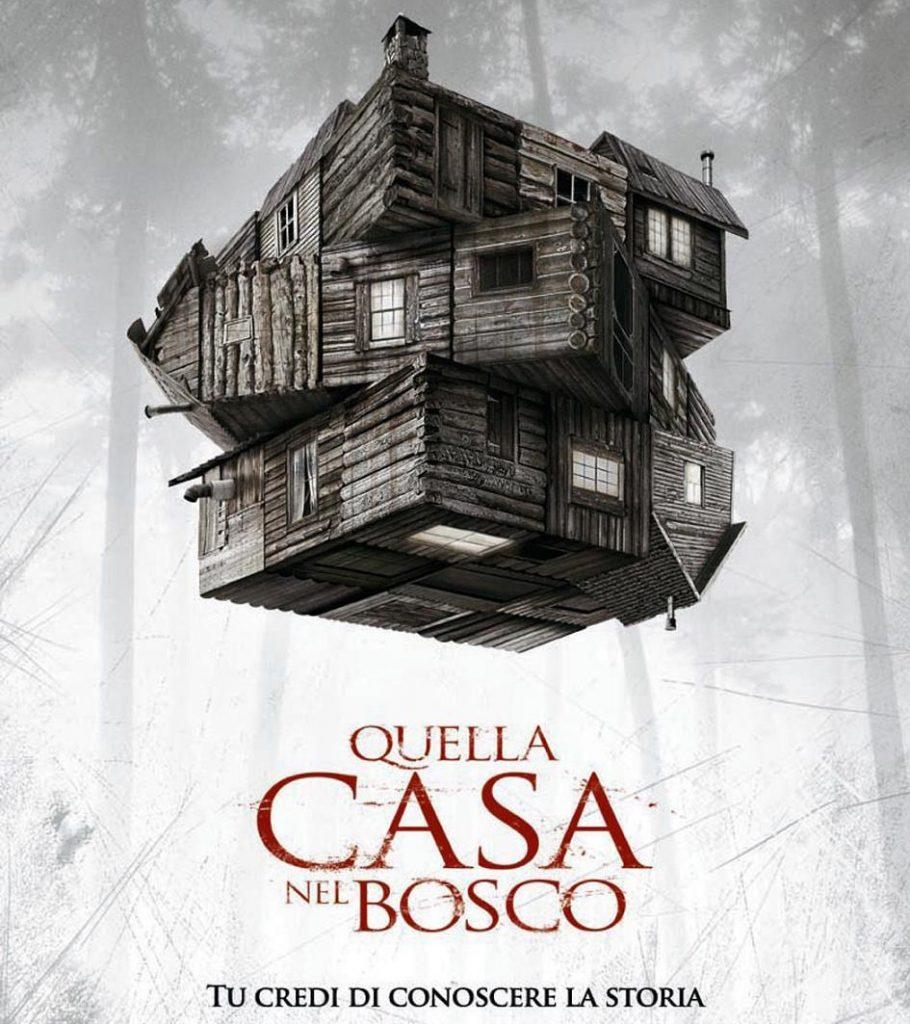 Quella casa nel bosco: un horror (in)aspettato. La locandina del film